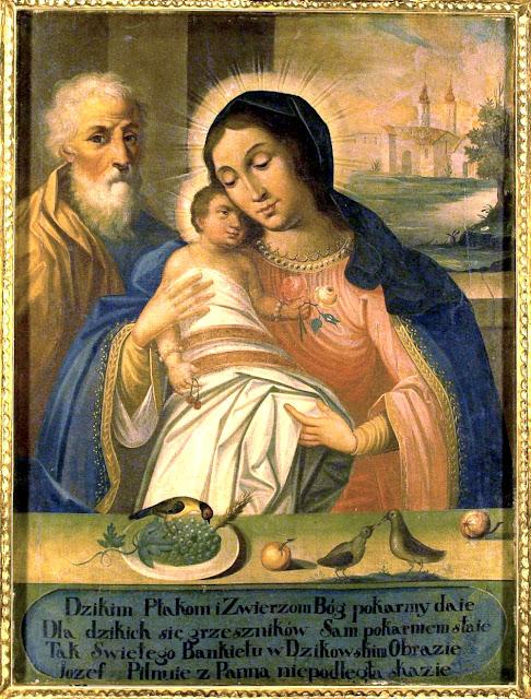 Matka Boska Chorzelowska – Królowa Rodzin, cudowny obraz w sanktuarium w Chorzelowie k. Mielca. Fot. M. Brzeziński, 2010 r.