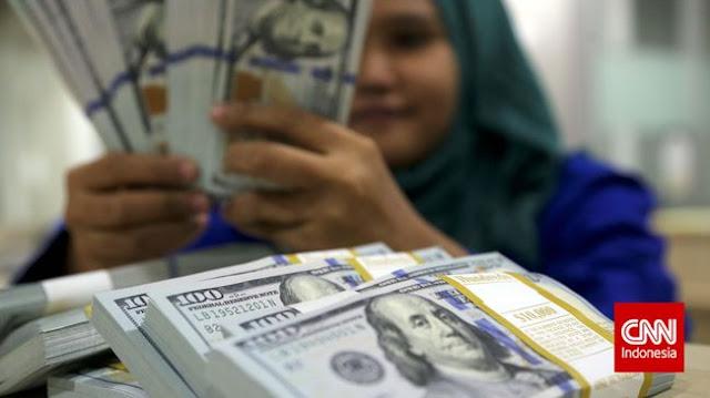 Serangan Teror Jakarta, Rupiah Dekati Rp14.000 per Dolar