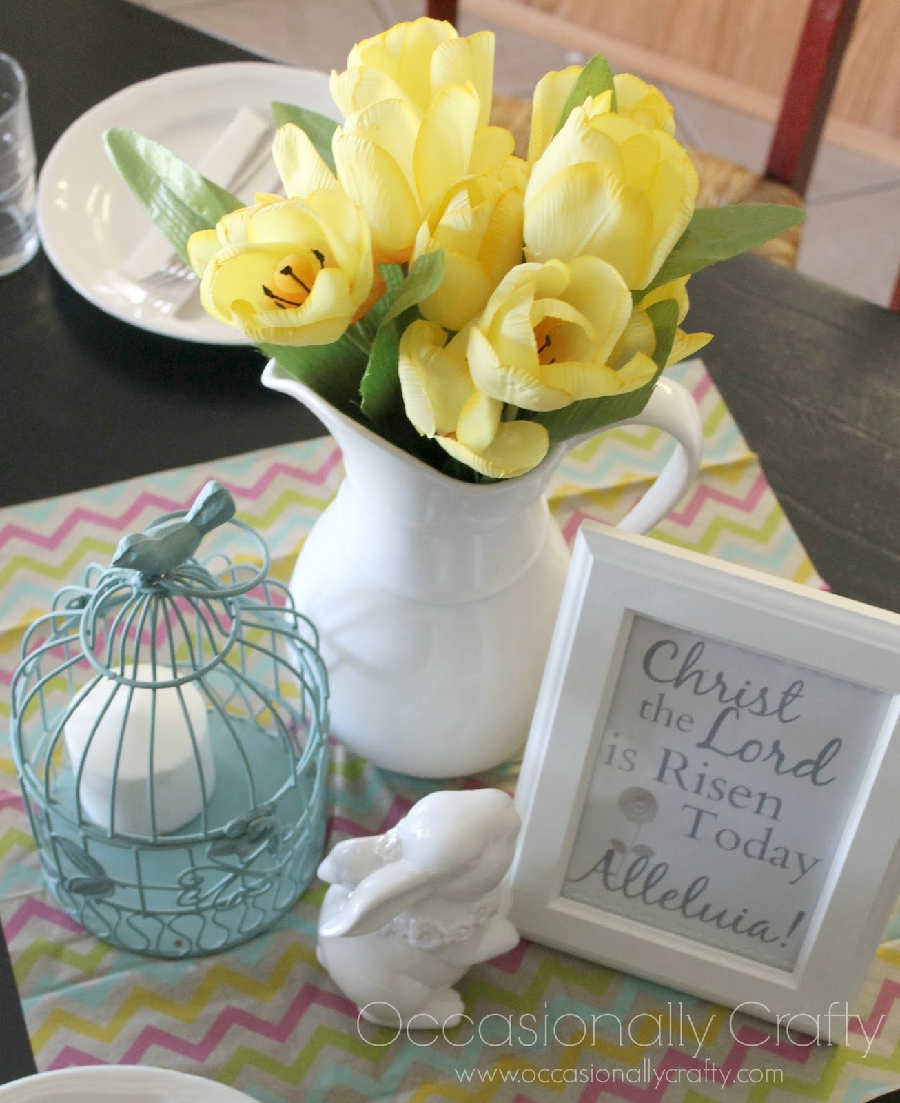 Free easter printable a honeybaked dinner