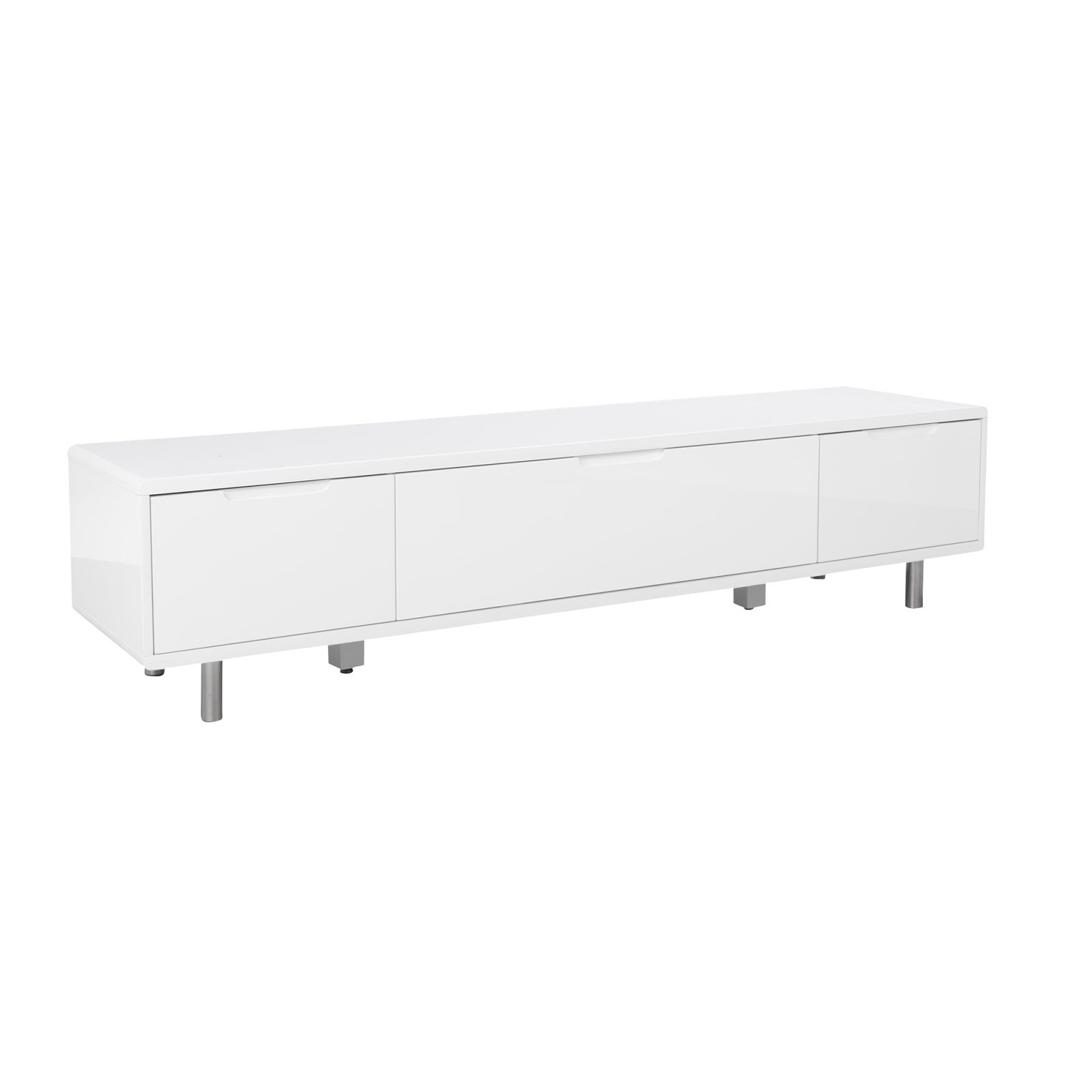 Meuble Tv Mural Fly Excellent Meuble Tv Alinea Blanc With Meuble  # Meuble Tv Blanc Laque Fly