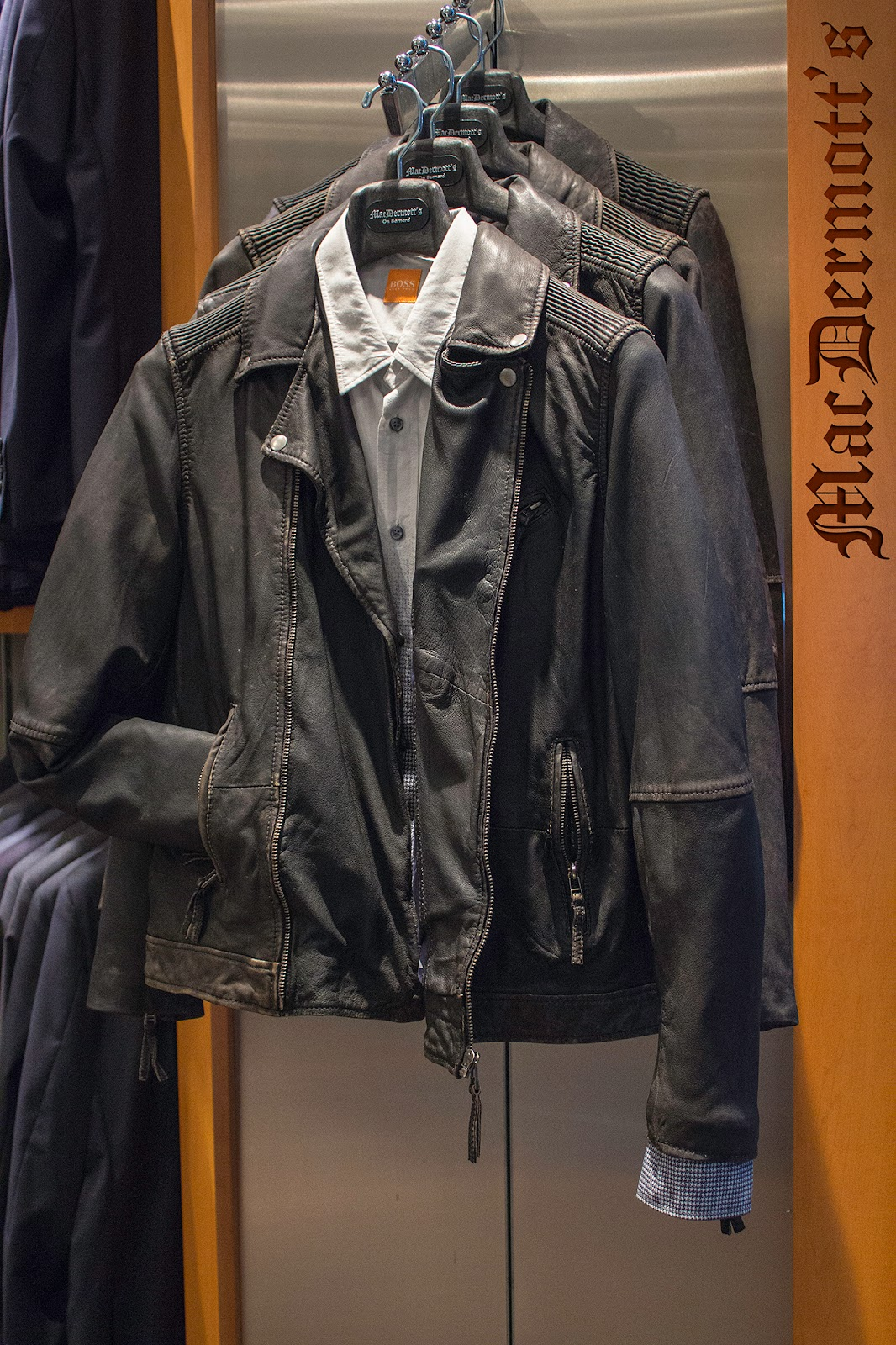 Leather jacket kelowna