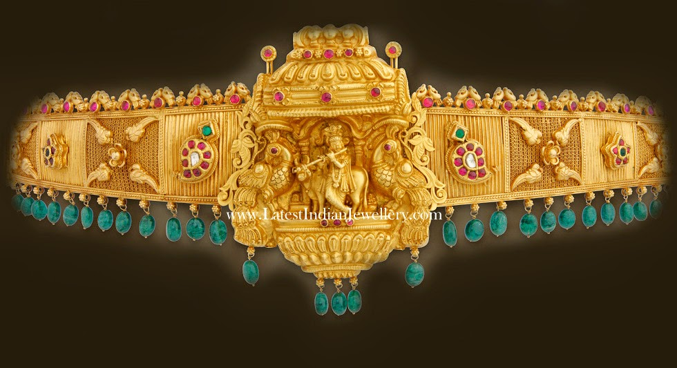 Waist Belt In Temple Design