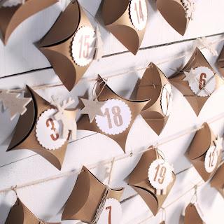 calendario de adviento diy colgar pared cajas cajitas self packaging