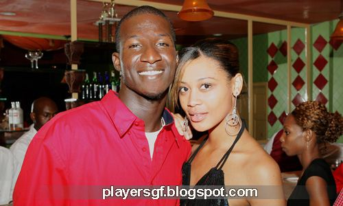 Darren Sammy and his wife Cathy Daniel