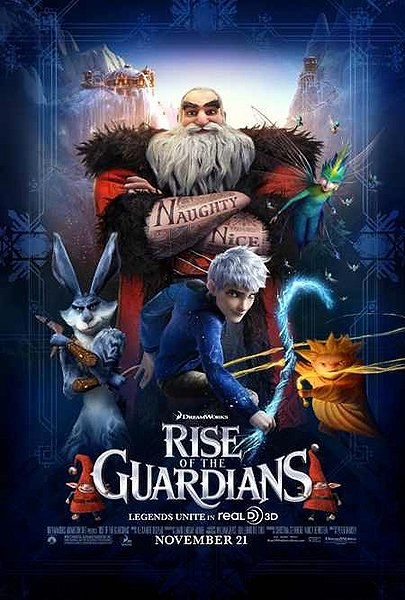 Rise of the Guardians post