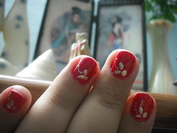 vivacious flair nail art