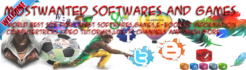 MosTWanted Softwares And Games