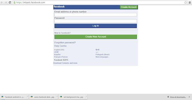 mbasic Version Of Facebook