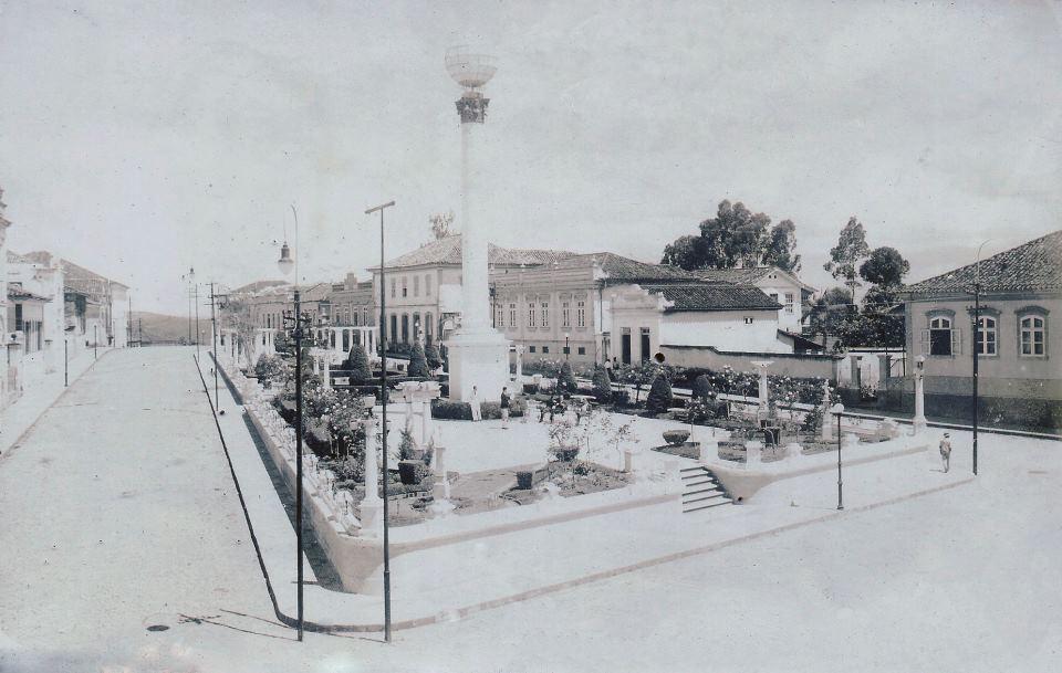Praça Conde de Prados - Barbacena MG