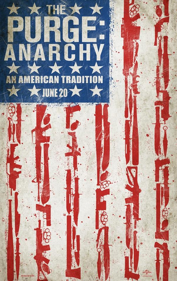 Póster Anarchy: La noche de las bestias