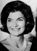 Jacqueline Bouvier , before she was a Kennedy, apparently purchased her famous  pearls in the late 1950s