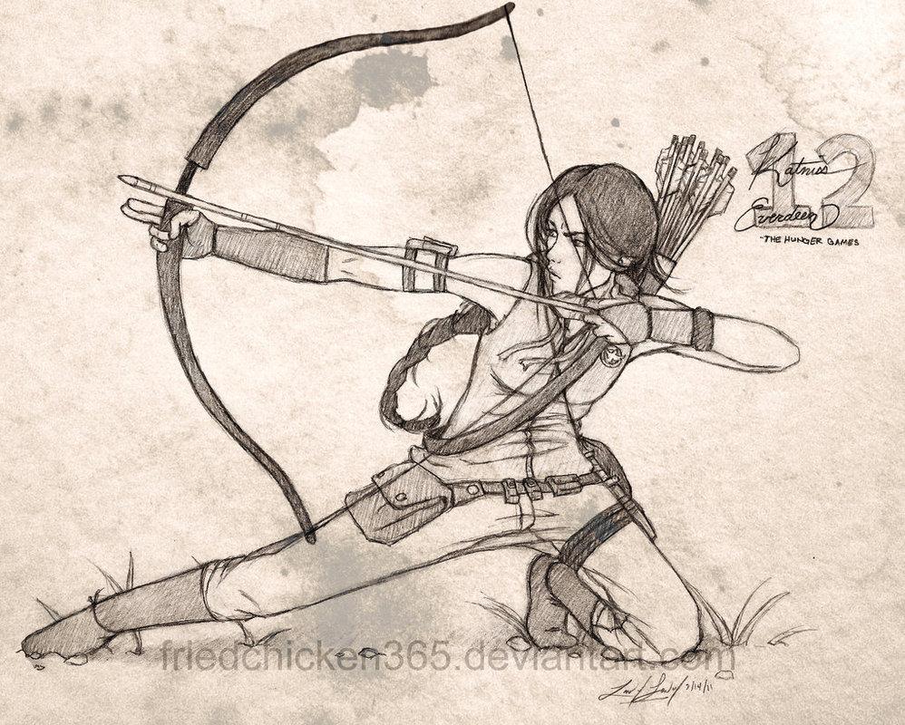 Katniss Everdeen Hunger Games Fan Art