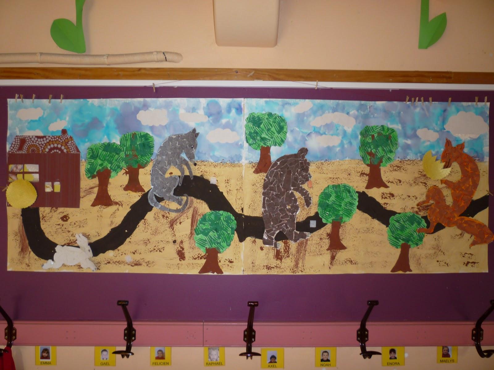 Ecole maternelle vitteaux janvier 2012 - Personnages de roule galette ...