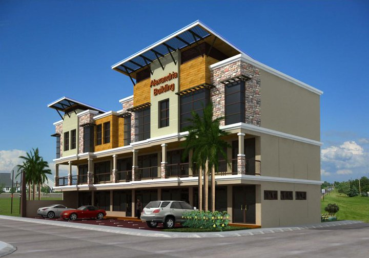 3 Storey Commercial Building Design Of M H B Alpuerto Design And Construction Our Latest Designs