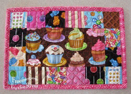 Candy placemat 8 x 12