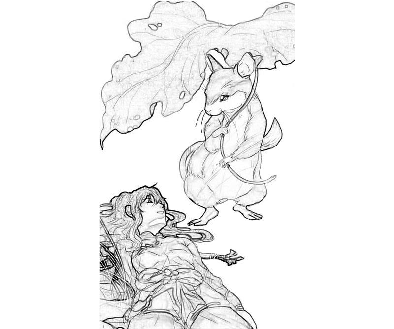 youko-nakajima-sleep-coloring-pages