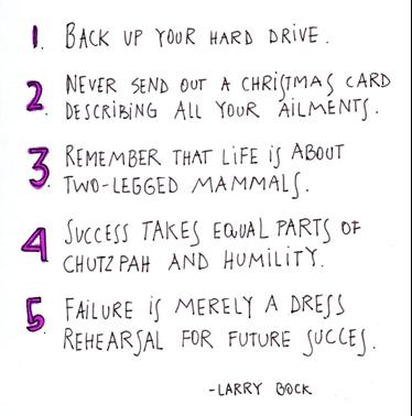 graduation quotes life lessons larry bock