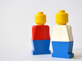lego minifigures circa 1975