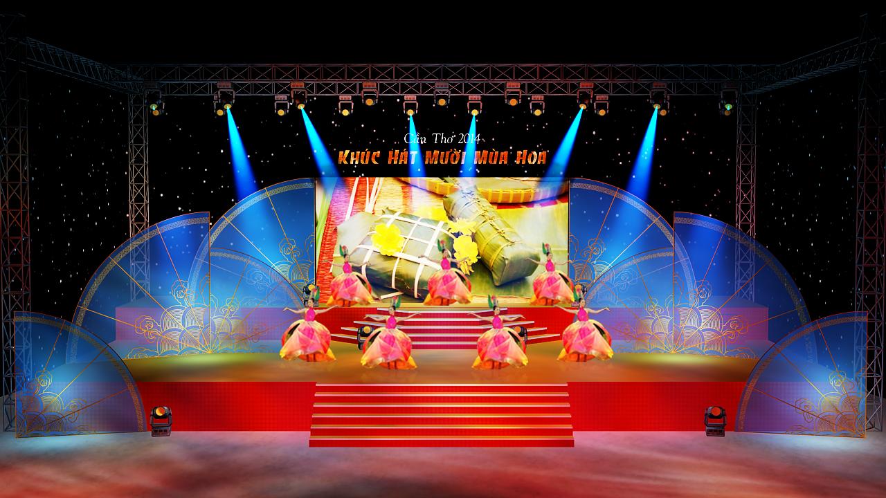Thi Công Sân Khấu
