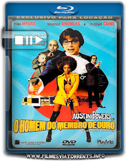 Austin Powers em o Homem do Membro de Ouro Torrent - BluRay Rip 720p Dublado