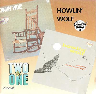 Howlin\' Wolf - Howlin\' Wolf/Moanin\' in the Moonlight 1986 (MCA)
