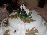 torta matrimonio autunnale