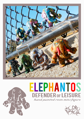 Elephantos: Color Change Edition Resin Mini Figures by Turbopistola
