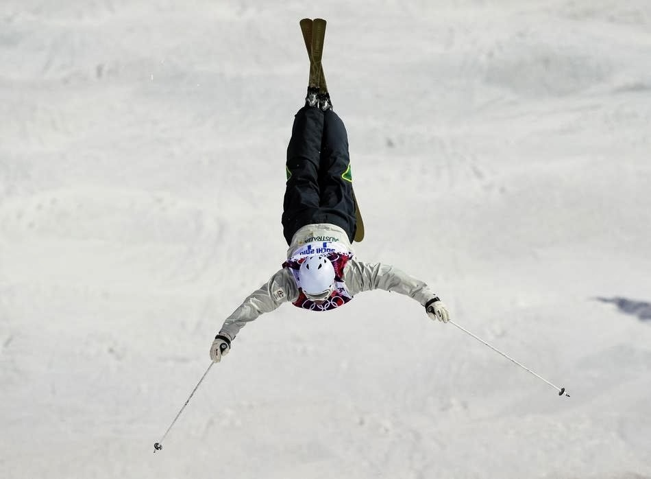 10. Totally not fake. - 22 Olympics Photos That Will Destroy Your Faith In Gravity