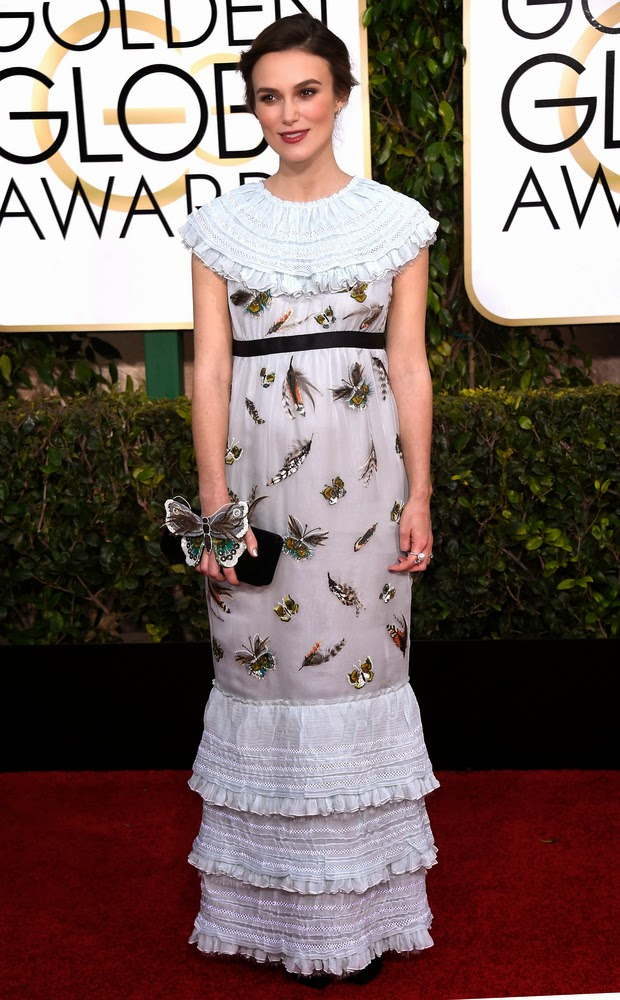 Worst Dressed Stars at the 2015 Golden Globes—Keira