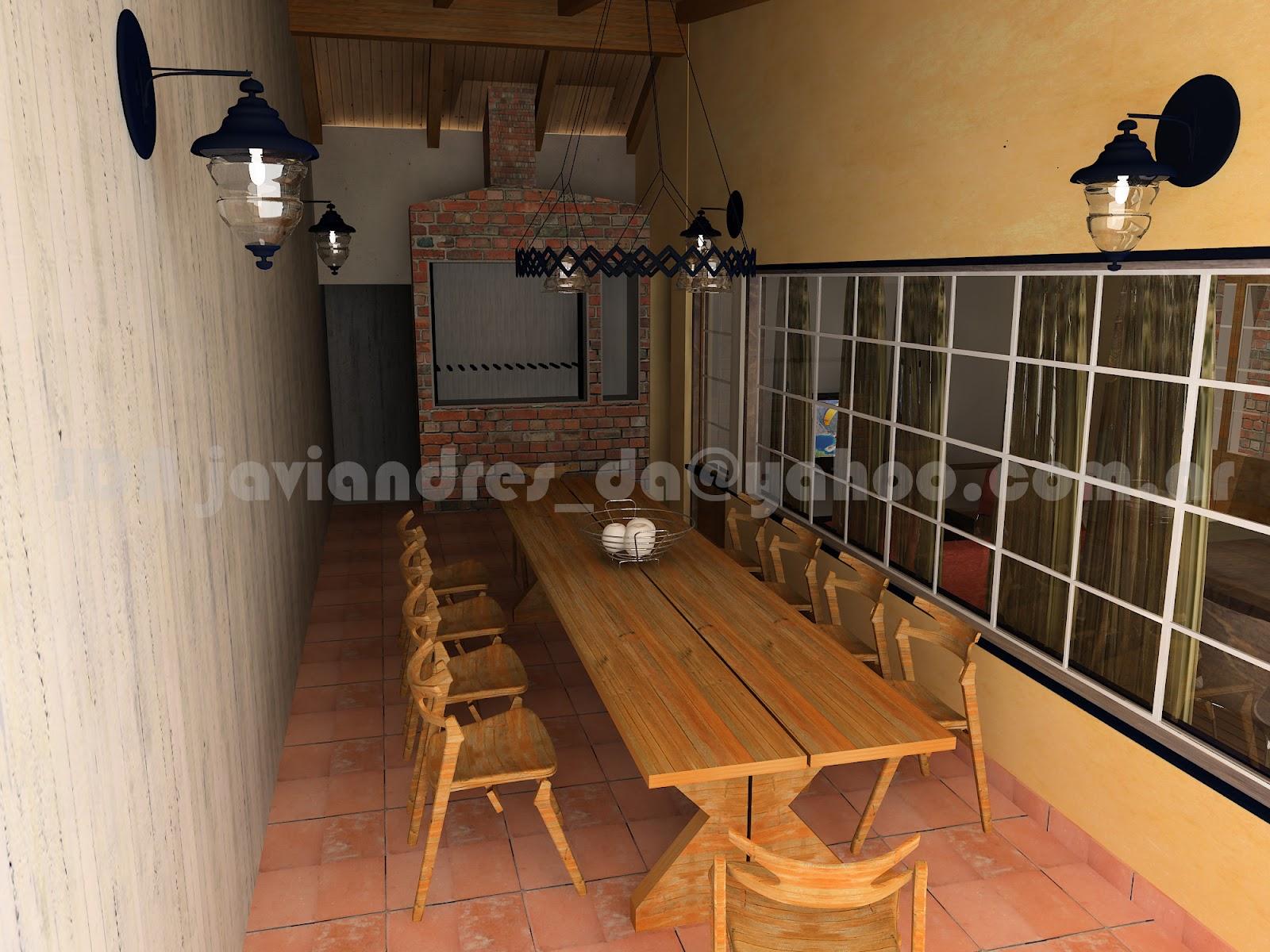 Arquitec maquetas remodelaci n 3d casa antigua buenos aires for Como remodelar una casa