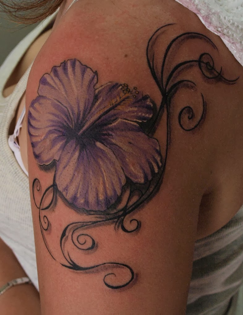 Hibiscus tattoos hibiscus flower tattoo gallery tattoos for girls all designs look beautiful and you really want to have the same tattoo for your body izmirmasajfo