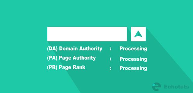 Pengertian dan Cara Meningkatkan DA PA dan PR pada Blog dan Website optimiztation tool page rank - echotuts