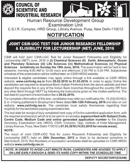 csir+recruitment+advt