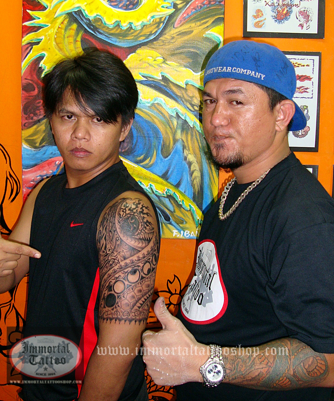 IMMORTAL TATTOO MANILA PHILIPPINES by frank ibanez jr.