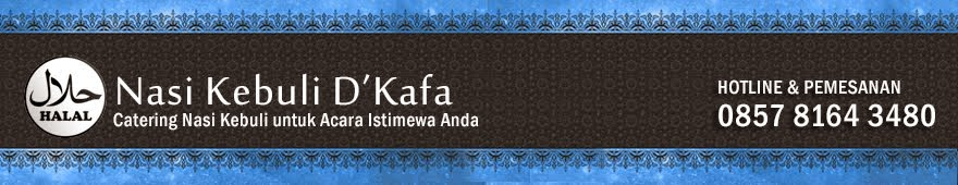 Catering Nasi Kebuli HALAL Telp.0857 8164 3480