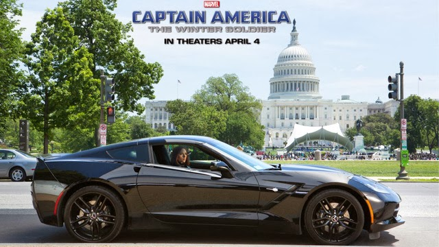 "2014 Chevrolet Corvette Stars in ""Captain America"" Sequel"