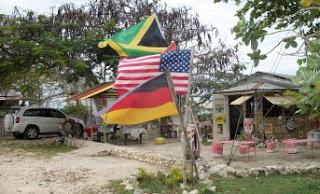 Far end bar flags
