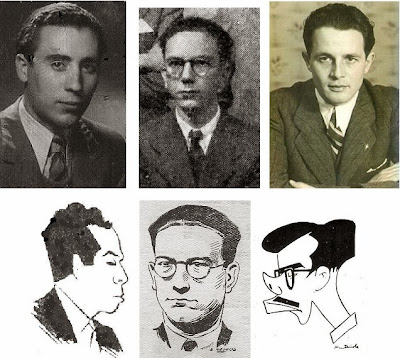 Miquel Albareda Creus, Santiago Martínez Mocete, Francisco José Pérez y Antonio Medina