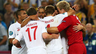 Berita Inggris Euro 2012