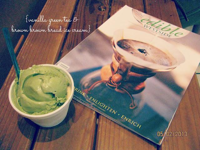 Scoops Westside-- Edible Magazine & Ice Cream