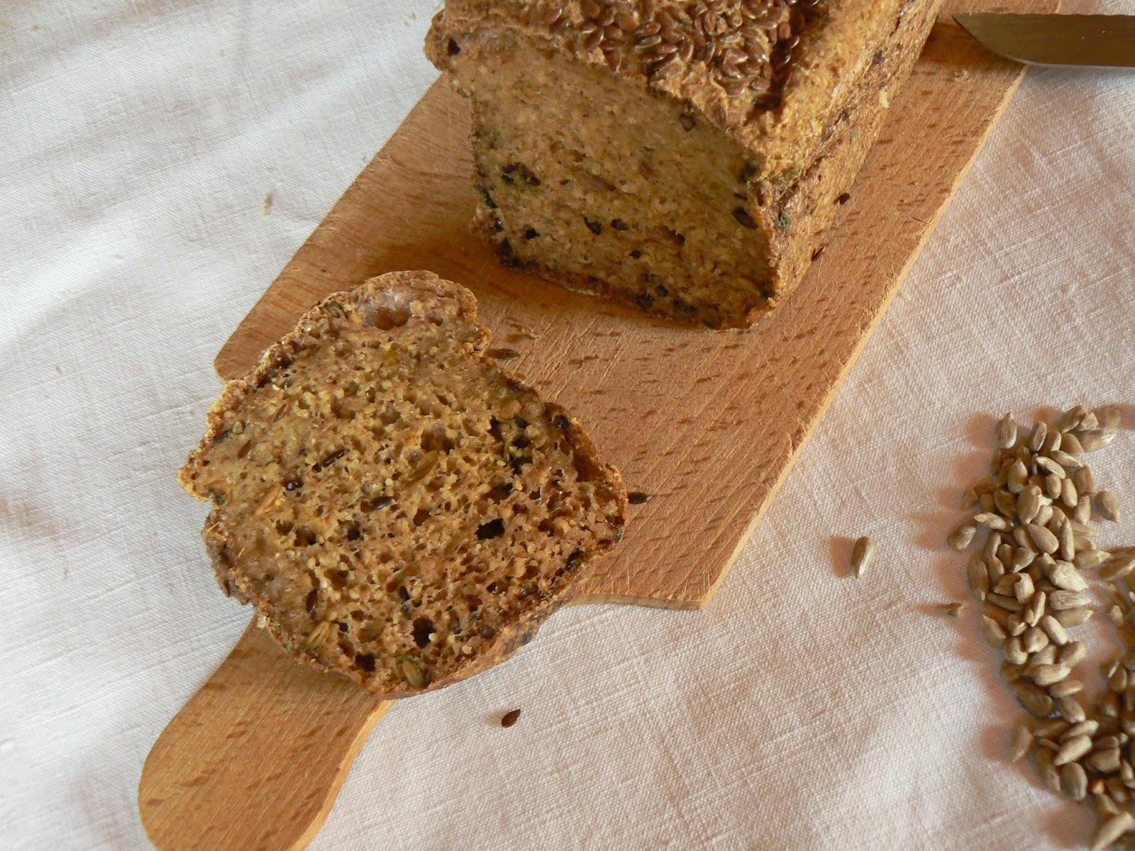 Naturopathie Ain - Pain moelleux sans gluten aux graines