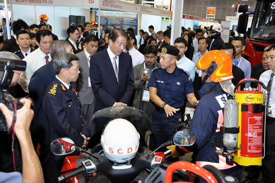 Safety & Security Asia 2011 (アジア安全・防護装置技術展) | シンガポール
