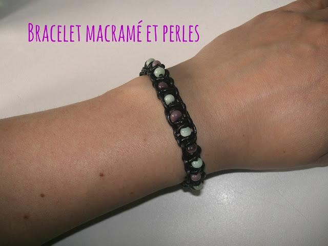 gabulle in wonderland bracelet d 39 t en macram et perles. Black Bedroom Furniture Sets. Home Design Ideas
