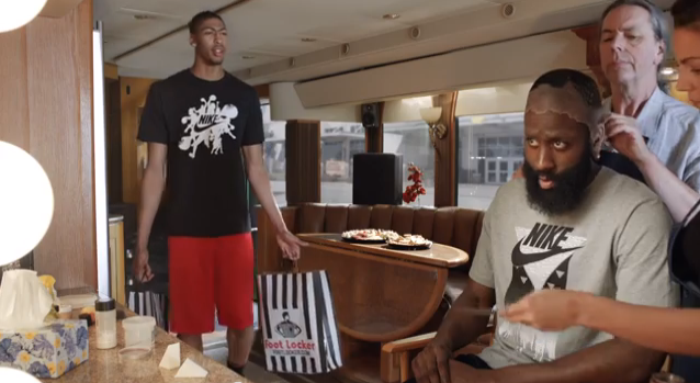 8dd7265f567d Mico Halili  James Harden and Anthony Davis in new Foot Locker ...