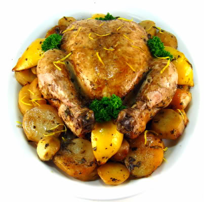 Two Years Ago Today: Lemon-Herb Slow-Cooked Chicken
