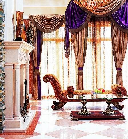 Decoration and Curtains Styling