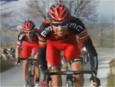 A former multiple-time US champion and former world champion?  Not too bad as a lead out.