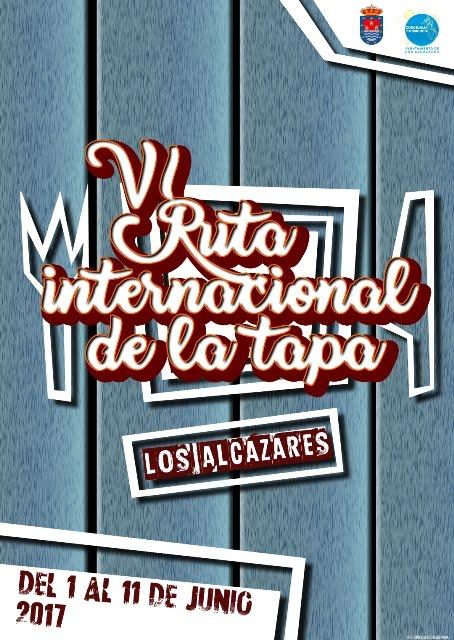 VI Ruta Internacional de la Tapa de Los Alcázares 2017.