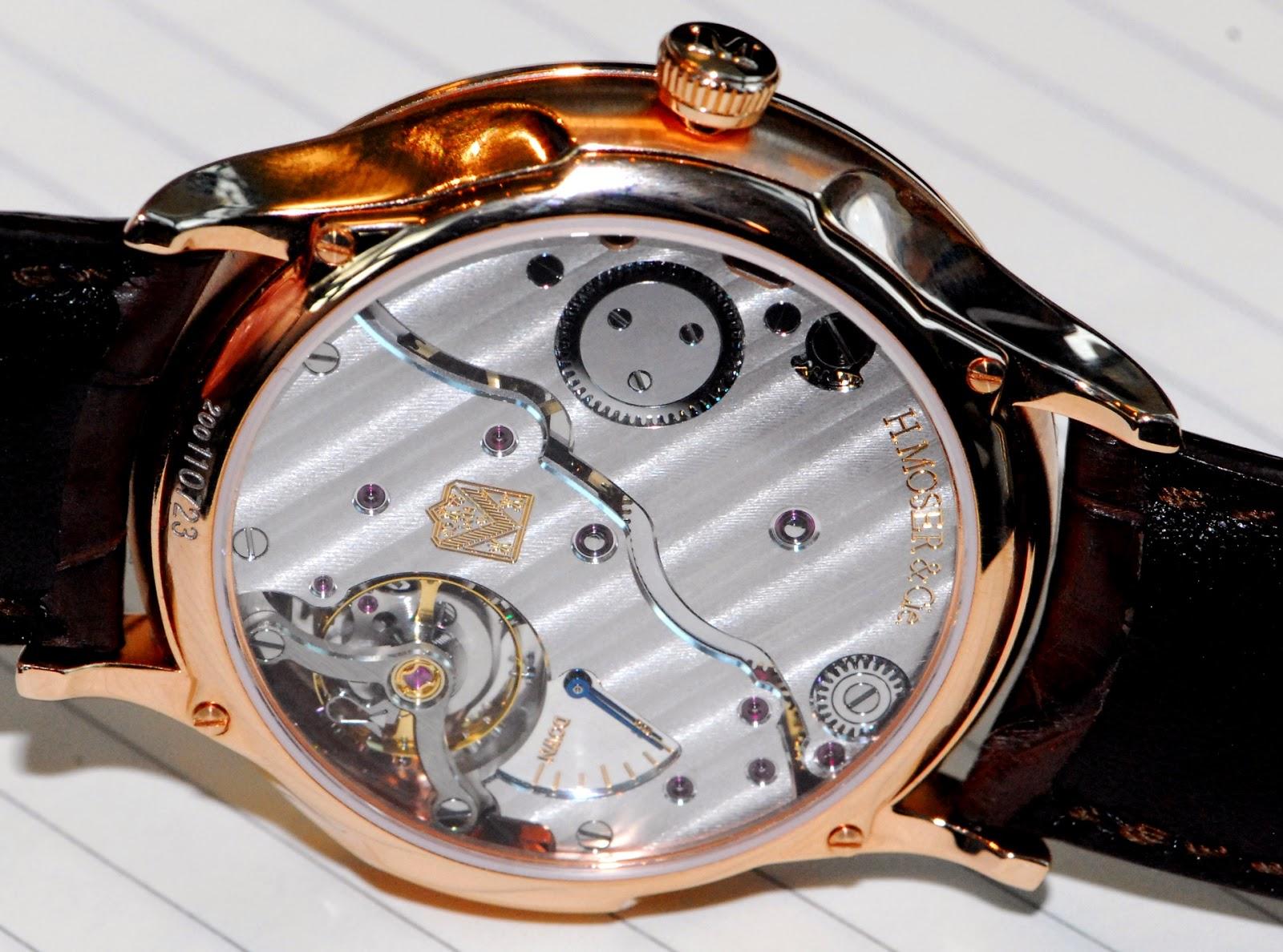 calibre HMC 327 H. Moser & Cie.