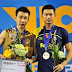 live lee chong wei vs lin dan badminton olimpik 2012 final